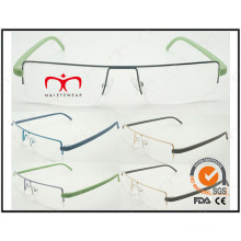 Hot Selling Colorful Tr90 Temples Metal Optical Frames (WRM503031)