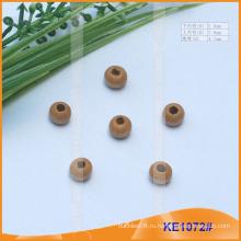 Мода деревянного конца шнура или шарик для одежды KE1072 #