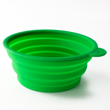 Großhandel sparen Platz Silikon Pet Bowl Travel Bowl
