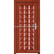 Neue Farbe innen Tür des festen Holzes (JKD-207) mit schlichtem Design und günstigen Preis