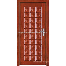 New Paint Solid Wood Interior Door (JKD-207) With Simple Design and Competitive Price