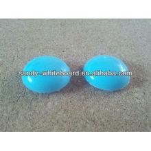 Пластиковая магнитная кнопка, магнит с пластиковым покрытием, круглая магнитная кнопка, аксессуары для доски, 20 мм XD-PJ201-4