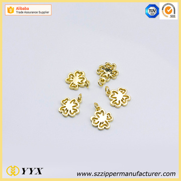 Zinc alloy gold metal zipper tab replacement new zipper slider