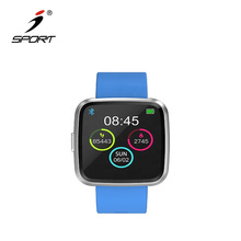 2019 New Full Screen Multi-touch and 1.3 Inches Color Display Bluetooth 4.0 Smart Bracelet for Blood Pressure Measurement