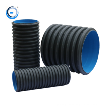 Hdpe pipe raw material 600mm high density polyethylene for drainage