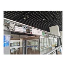 Aluminum Profile Electric Automatic Sliding Door Opener With Motor Lock