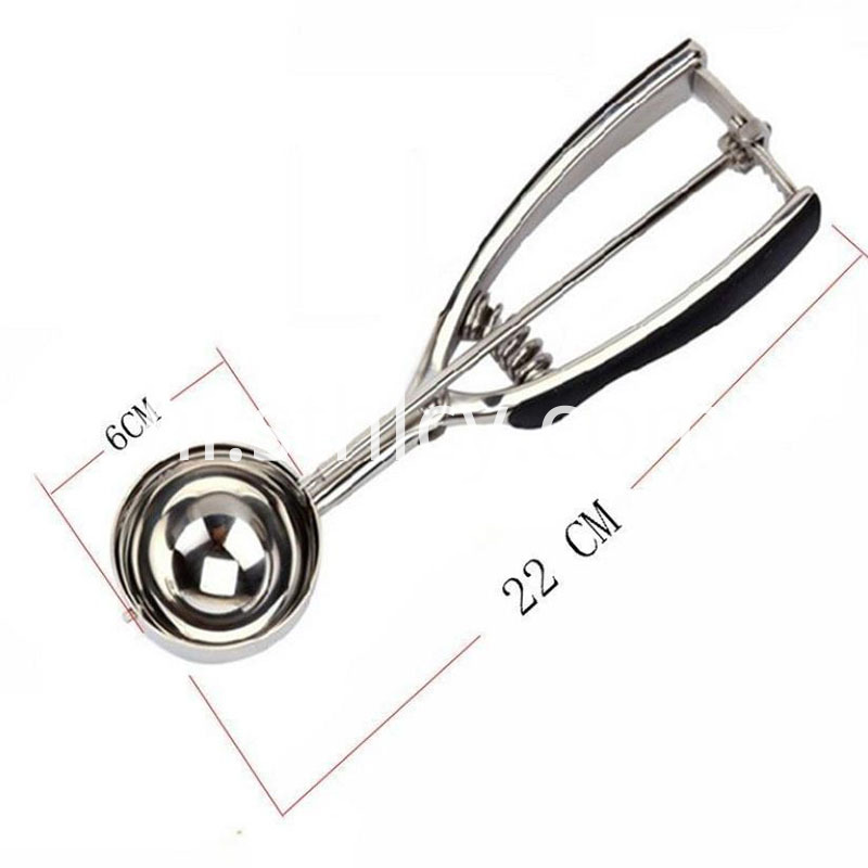 Stainless Steel Digging Ball Spoon