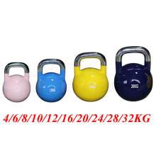 China Wholesale Competição Kettlebell 16kg com charme de aço inoxidável
