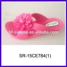 Zapatillas de lujo del dormitorio de los deslizadores de las mujeres de los deslizadores de las señoras del pcu de Hotselling