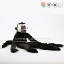 Brinquedo do macaco ímã, ímã mini animais de brinquedo de pelúcia, animal de pelúcia ímã