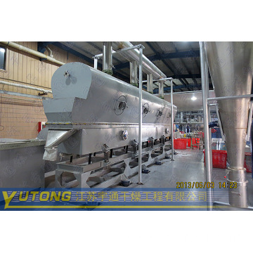 Vibrating-Fluid Bed Dryer for Granule State Material