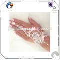 Tatouage temporaire de henné or bohème henné tatouage temporaire Autocollant or flash de corps métallique art