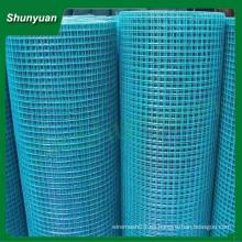El mejor precio 2x2 pvc revestido malla de alambre soldada (fabricante de China)