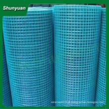 Melhor preço 2x2 pvc revestido malha de arame soldado (fabricante da china)