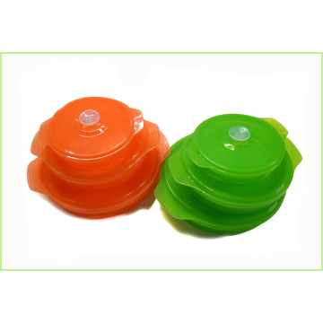 LFGB y FDA Food Container Silicone Bowl