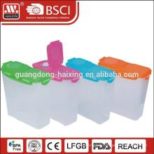 Récipient de nourriture en plastique, produits en plastique (4L)