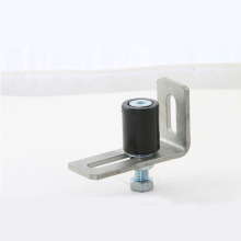 White or Black Color Nylon Single Pulley with Bracket Together