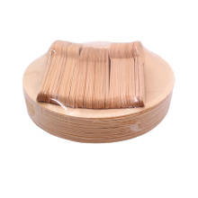 Biodegradable Disposable Birch Wooden Plates and Cutlery Set For Sale