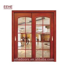 Modernes Design-Glas-Badezimmer-Eingangstür Auswirkungs-Glasbüro-Eingangstüren