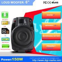 Wireless Audio Lamp Bluetooth Speaker with LED Lamp Light