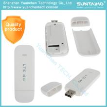 4G Lte USB 100Mbps Modem sem fio de USB Stick Hotspot WCDMA GSM borda HSPA cartão SIM