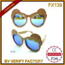 Fx139, Деревянный материал 100% чисто сувенирные Фоторамки Детские солнцезащитные очки