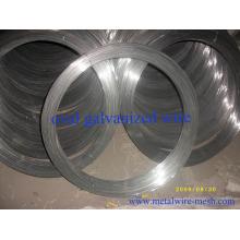 Fil d'acier galvanisé ovale 2.2mmx2.7mm pour ferme clôture