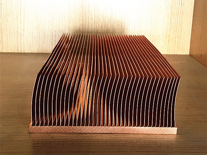 copper skiving heatsink