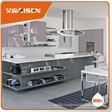 Popular for the market lacquer finish kitchen cabinet