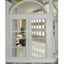 double vitrage bande de finition blanche pour fenêtre pvc