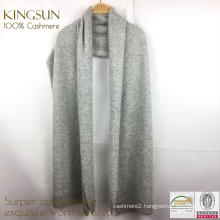 KS-040A Lochmere Cashmere Blanket Throw,Wholesale Pure Mongolian 100% Cashmere Scarf Nepal Shawl Wrap