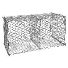 China Alibaba Supplier galvanized coated flood stone for gabion cage price for gabion cages