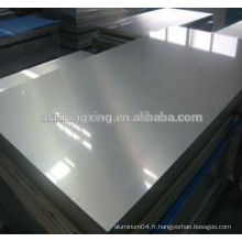 Plaque en aluminium / alliage de tôle 5154 pour la construction