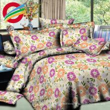 modern reactive printed fabric bedding bed sheet sets