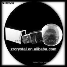 forma de bola cristal USB flash disk