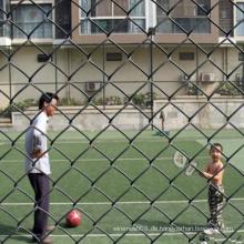 PVC-überzogener Kettenglied-Zaun für Ball-Park