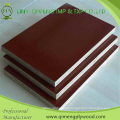 Black and Brown Color 1220X2440X18mm Shuttering Plywood for Exporting