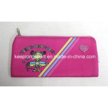Étuis à crayons en néoprène rose 2.5mm pour enfants