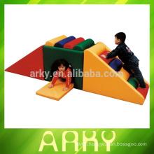 Child Indoor Happy Soft Playground Slide