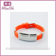 Venta caliente de Alibaba todas las pulseras del silicón del color