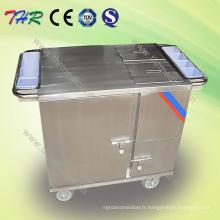 Chariot à dîner de chauffage électrique (THR-FC011)