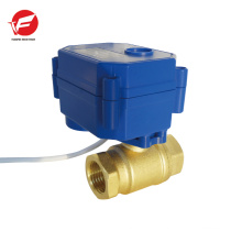 The most durablemotorized 12v flow control water valve with timer