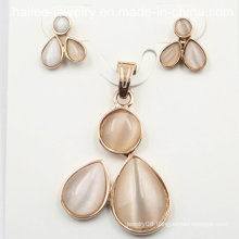 Imitation Stainless Steel Fashion Set Jewelry for Decoration
