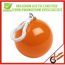 Werbe-Logo gedruckt Kunststoff Regen Poncho Ball