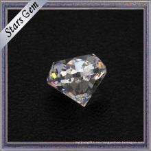 Piedra preciosa floja pesada pesada de la CZ del tamaño al por mayor del tamaño al por mayor