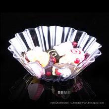Посуда пластиковая дисковая одноразовая тарелка с блюдцем из ритуальной пластиковой посуды
