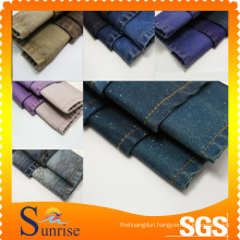 100% Cotton Denim Fabric With Different Color