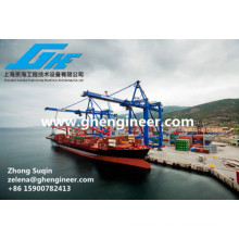 Double Beam Crane with Slewing Container