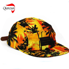 Sunset Palm 5panel Cap Hat Supreme New (QZ-LW-011)