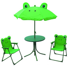 Hot vente enfants pliant parasol et table utilisée pour le jardin et la plage